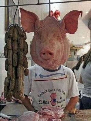 面猪头怎么捏图解